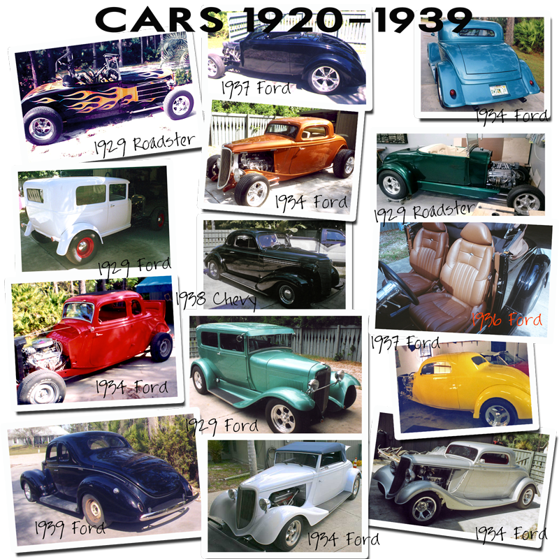 schrecks custom upholstery cars from 20s and 30s