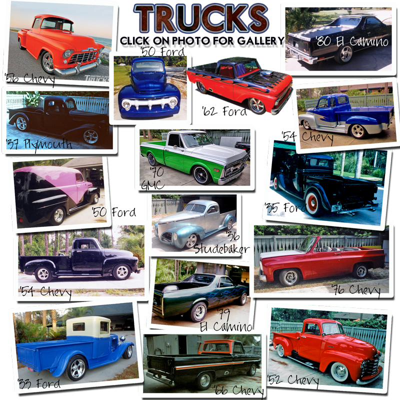 SCHRECKS CUSTOM UPHOLSTERY TRUCKS