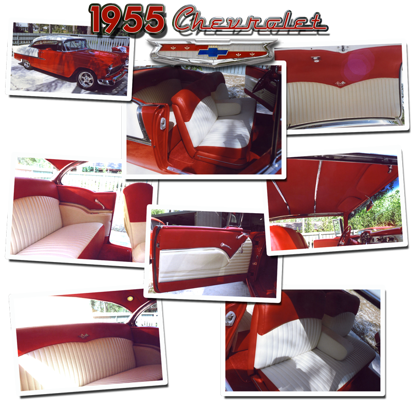 Schrecks_Upholstery_RED_2Tone_55Chevy