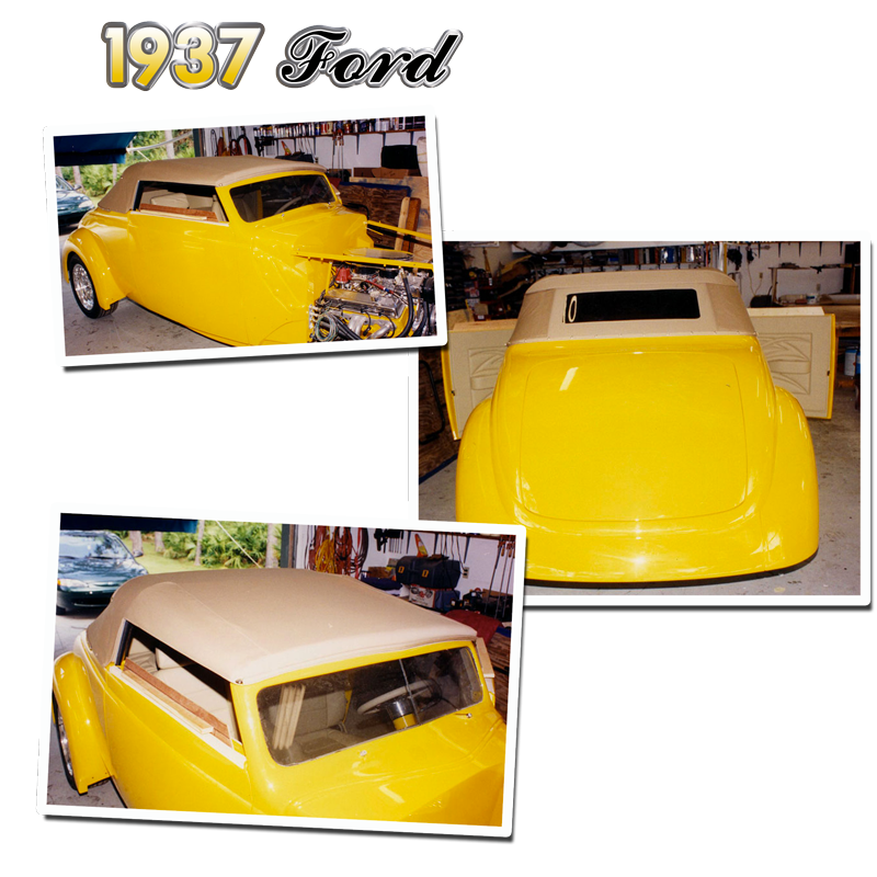 Schrecks_Upholstery_yellow_1937_Ford_Convertible