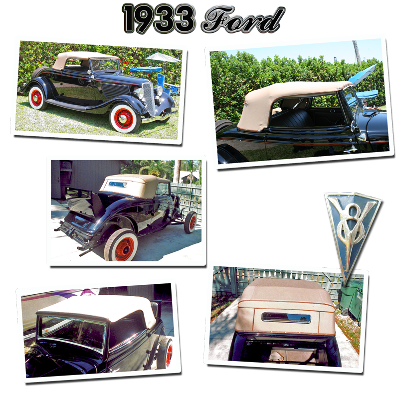 schrecks upholstery 33 ford